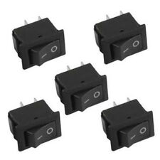 10Pcs 2 Pin 12V Car Boat Round Dot Light ON/OFF Rocker Toggle Switch Easy to Use