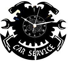 OROLOGIO DA PARETE -  CAR SERVICE AUTOFFICINA MECCANICO AUTO CARROZZIERE