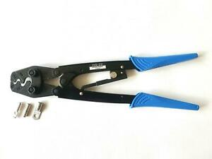 HS-22 Ratchet Crimp Tool for Non-insulated Ring, Fork, Copper Tube Lug Terminals