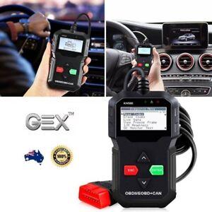 New Car Vehicle Engine Fault Diagnostic Scanner Code Reader Display OBD2 KW590