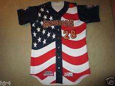 Harrisburg Senators Washington Nationals Minor League Baseball Game Worn Jersey