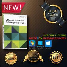 VMware ESXI 6 /6.5/ 6.7 vSphere Enterprise Plus Unlimited CPUs +🎉License KEYS🎉