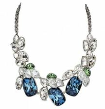 Ni B$899 Atelier Swarovski Nevola All-Around Statement Necklace Blue 5229378