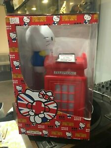 Hello Kitty Illuminated Phone Booth Wireless Charger Compatible 100 + Phones
