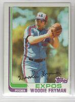 1982 Topps Baseball Montreal Expos Team Set