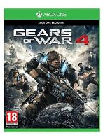 Gears of War 4 XBOX ONE -MINT- XBOX ONE X ENHANCED -1st Class Fast Delivery