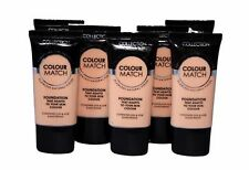 Collection 2000 COLOUR MATCH Foundation Flawless Natural Finish UVA Light Dark