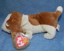 RARE TY Beanie Baby TRACKER Dog w/ ERROR RETIRED Mint Condition Mint Tags