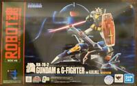 Robot Spirits Gundam & G Fighter Ver A.N.I.M.E. Real type color figure Japan F/S