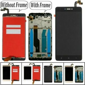 For Xiaomi Redmi Note 4X LCD Display Glass Touch Screen Digitizer + Frame Kits