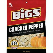 BIGS Cracked Pepper Homestyle Roast Pumpkin Seeds, 5-oz. Bag (1-Bag)