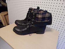 Womens Candie's boots - Warrior Black  - size 9