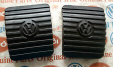 VW MAGGIOLINO BEETLE COX T2 T3 KARMANN GOMMINI PEDALI PEDAL RUBBER PAD PEDALE