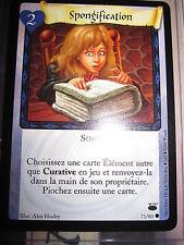 HARRY POTTER TCG GAME CHEMIN DE TRAVERSE SPONGIFICATION 71/80 COM FRANCAIS NEUF