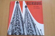 Reiseführer/ Prospekt Regensburg ,20 Seiten, 1955