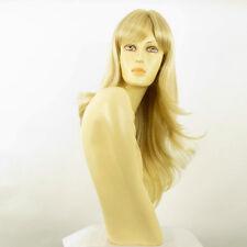 Perruque femme mi-longue blond doré méché blond très clair AGNA 24BT613