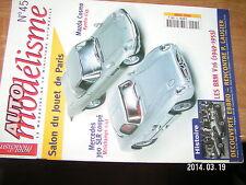 Auto Modelisme n°45 BRM V16 1949-1955 Mazda Cosmo Mercedes 300 SLR coupé