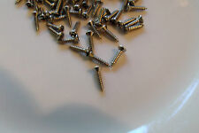 20 NEW STAINLESS STEEL PICK-GUARD SCREWS for FENDER SQUIER STRATOCASTER &