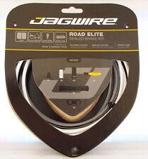 Jagwire Road Elite Polymer Coated Sealed Brake & Shift Cables Set, White