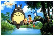 Totoro POSTER  **AMAZING COLOR**  Studio Ghibli Hayao Miyazaki JAPAN Anime