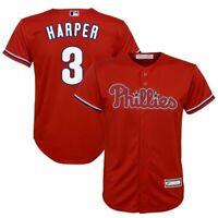 Bryce Harper Philadelphia Phillies Majestic Youth Replica Player Jersey -