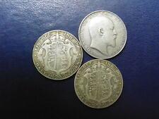 More details for edward vii silver halfcrown 1902-1910 s.3980