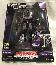 Transformers Generation 1 MENASOR [Titanium Series Die Cast] [New, Never Opened]