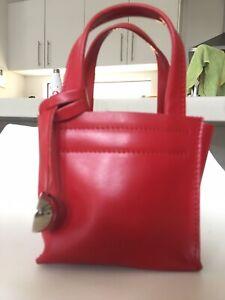 Furla Red Leather Mini Bag - Never Used