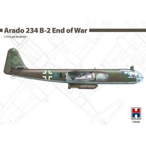 Hobby 2000: 1/72; Arado 234 B-2 End of War - Dragon + Cartograf + Masks