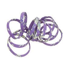 Liberty of london violet capel v 4mm 100% coton ruban cordon 1m (K49/4)