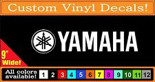Yamaha Drum vinyl decal Sticker 9""