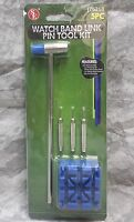 SE 5-Piece Watch Band Repair Link Pin Tool Kit JT6218 NEW!
