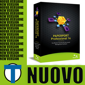 [NUOVO] Nuance PaperPort Professional 14.5 (MULTI) (SERIALE+Download) OEM