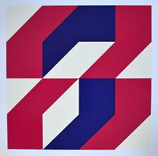 Wulf Nolte - Asymmetrisch - 3-73, 1973, original 70er Jahre Grafik
