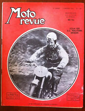 Moto Revue du 2/01/1954; Essai 125 DS Malterre Briban/ DMW nouvelle machine