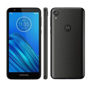 Motorola MOTO E6 MOTXT20051 16GB (Starry Black) - Verizon Smartphone - NICE