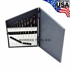 Norseman 11pc Metric HI-Molybdenum M7 Drill Bit Set 1-6mm MADE IN USA SP-11M