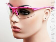 ERB Ella Hot Pink Clear Lenses Safety Glasses Motorcycle Womens Z87+