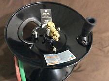 Twin Welding Hose Reel  100' capacity with mounting bracket Oxygen Acetylene