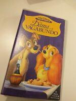 VHS la dama y el bagabundo  DISNEY  (coleccionistas)