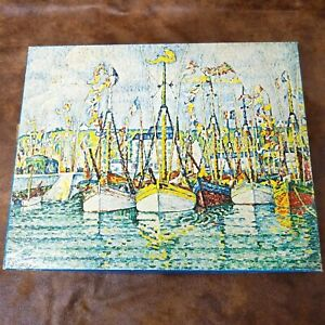 """Vintage 1970 Springbok 500 PC Puzzle """"The Blessing of the Fishing Fleet"""""""
