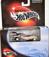 HOT WHEELS 100% BLACK BOX PONTIAC FUNNY CAR LIMITED EDITION W+