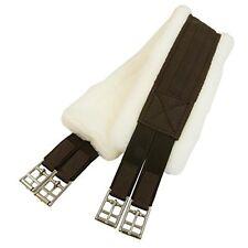 Intrepid International Fleece English Girth with Double Elastic, 52