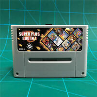 Super Plus 800 in 1 ED DSP V2.5  For SNES and SFC 16 Bit Game Console + 8GB Card