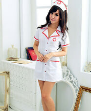 Women Sexy Nurse Dress Role-playing Game Suit Stage Costume Uniform Temptation