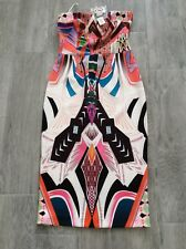 LADIES RIVER ISLAND DRESS MULTI COLOURED SIZE 10