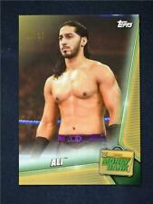 2019 Topps WWE Money in the Bank Gold #57 Ali 10/10