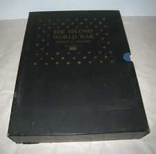 The Second World War by Winston Churchill & The Editors of LIFE Vols 1 & 2 1959