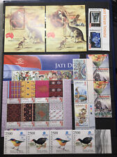 Recent Very Fine Mint Never Hinged Lot Sheets Etc Indonesia / Indonesie 1- MNH