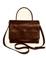 Coach 9185 Whitney Brown Leather Satchel Crossbody Bag